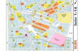 cda sector i-14 map islamabad
