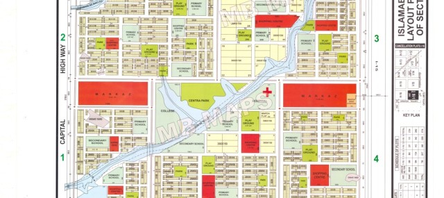 CDA Sector I-16/2, 5.5 Marla Residential Plot For Sale