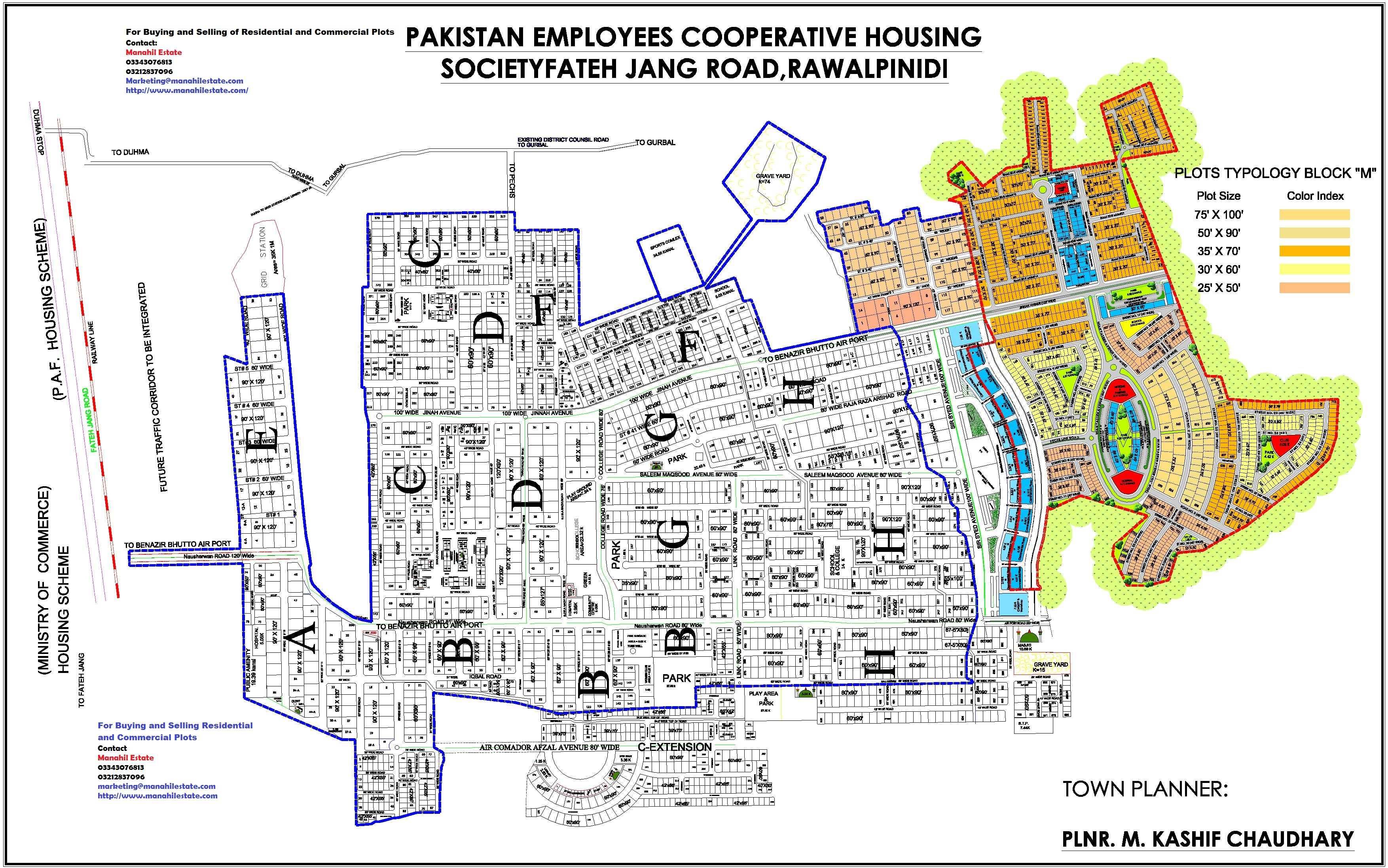 pechs-housing-society-islamabad-map