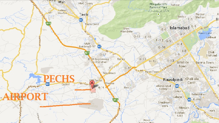 pechs-and-new-islamabad-airport-location