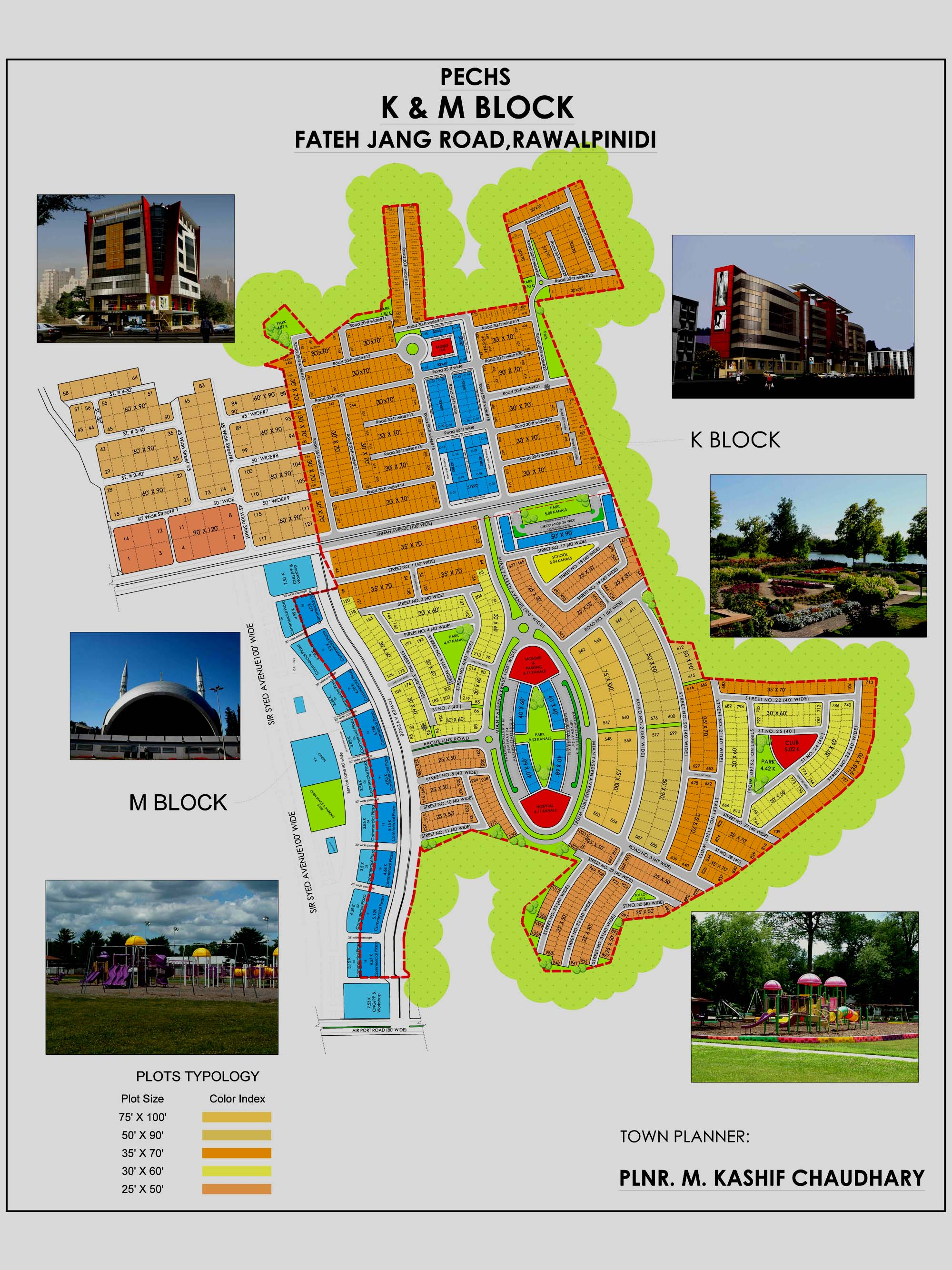 pechs-islamabad-k-m-block-map