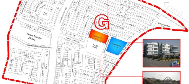bahria-town-phase-8-sector-g-map