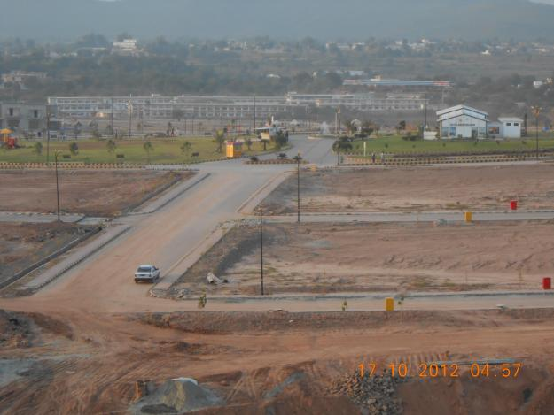 10 marla plot old map c block bahria enclave islamabad