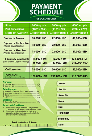 gulberg-greens-islamabad-payment-schedule-dollars