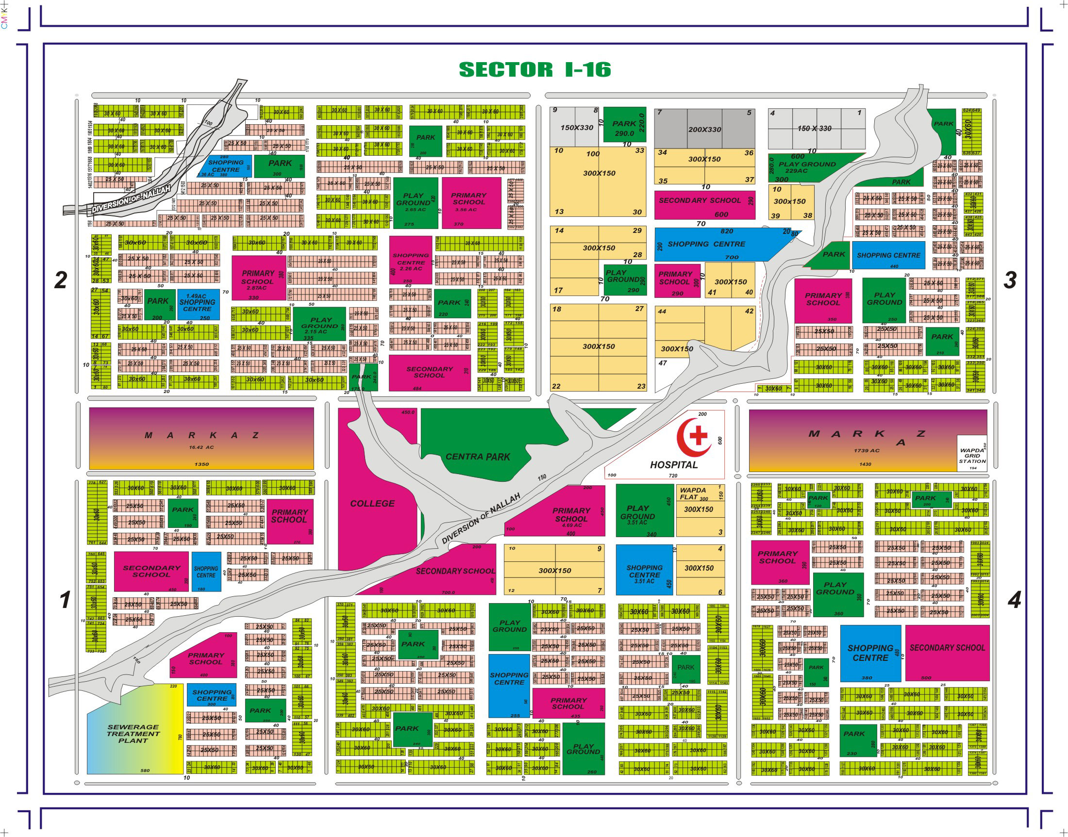 Sector I-16 Islamabad: 25×50 Plot in I-16/2 Islamabad for Sale