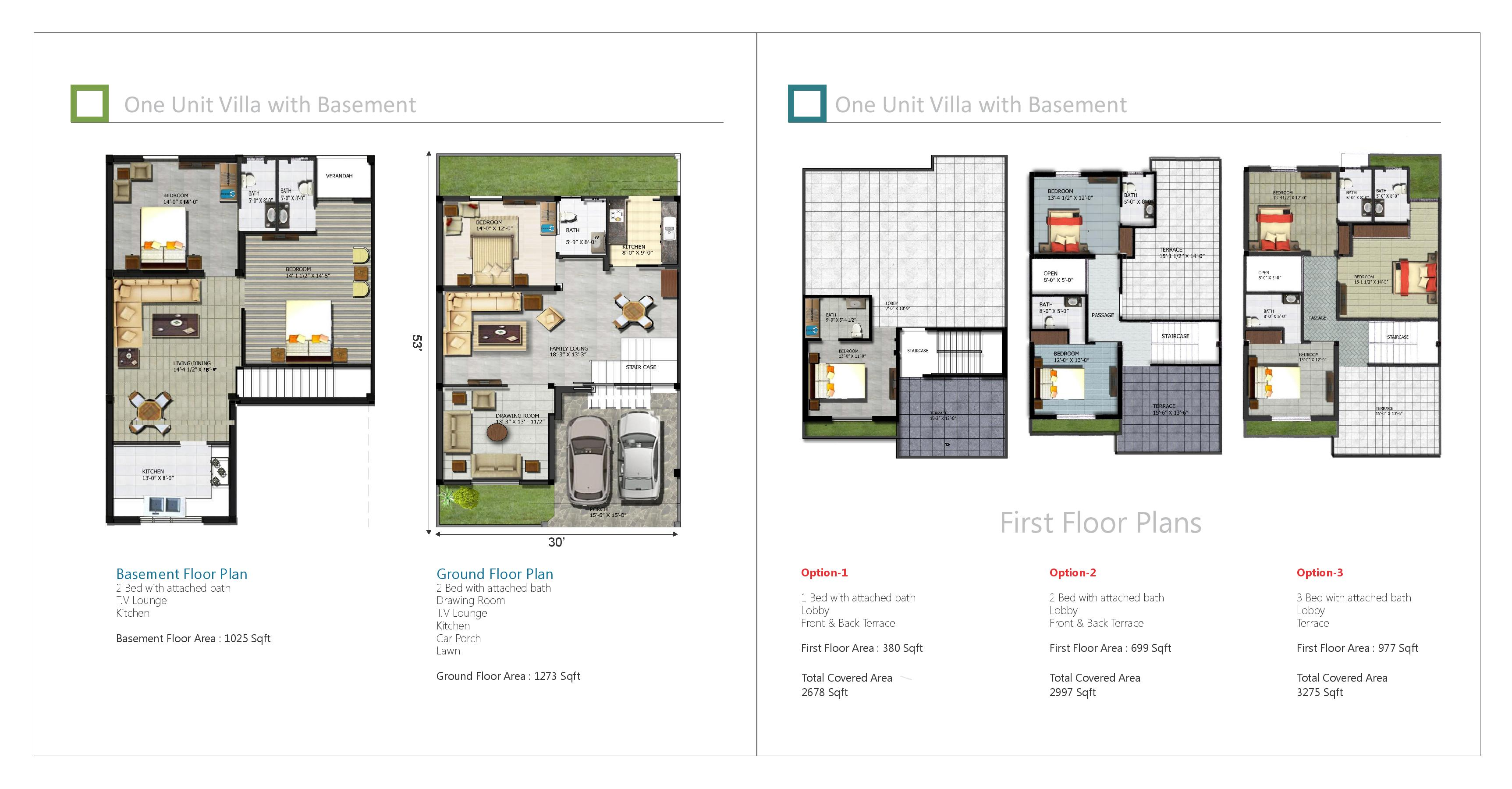 Pine villas phase 2 booking details features and prices for Villa design floor plan