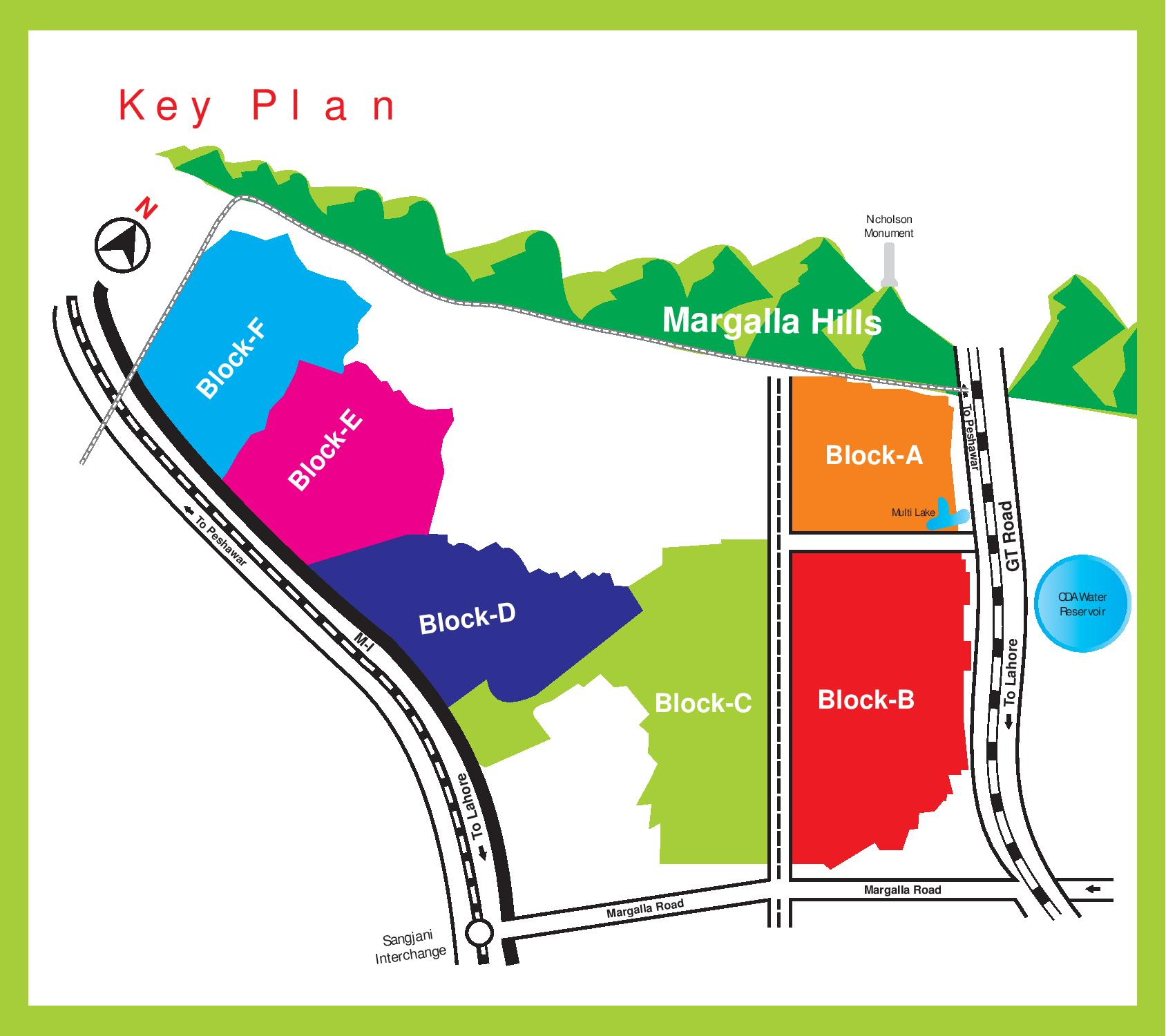 Sector B 17 Multi Gardens Block F Launch Prices And Booking Details