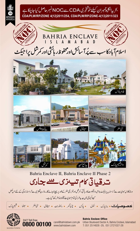 Capital Smart City Islamabad - Project Details, Location and Plot Prices