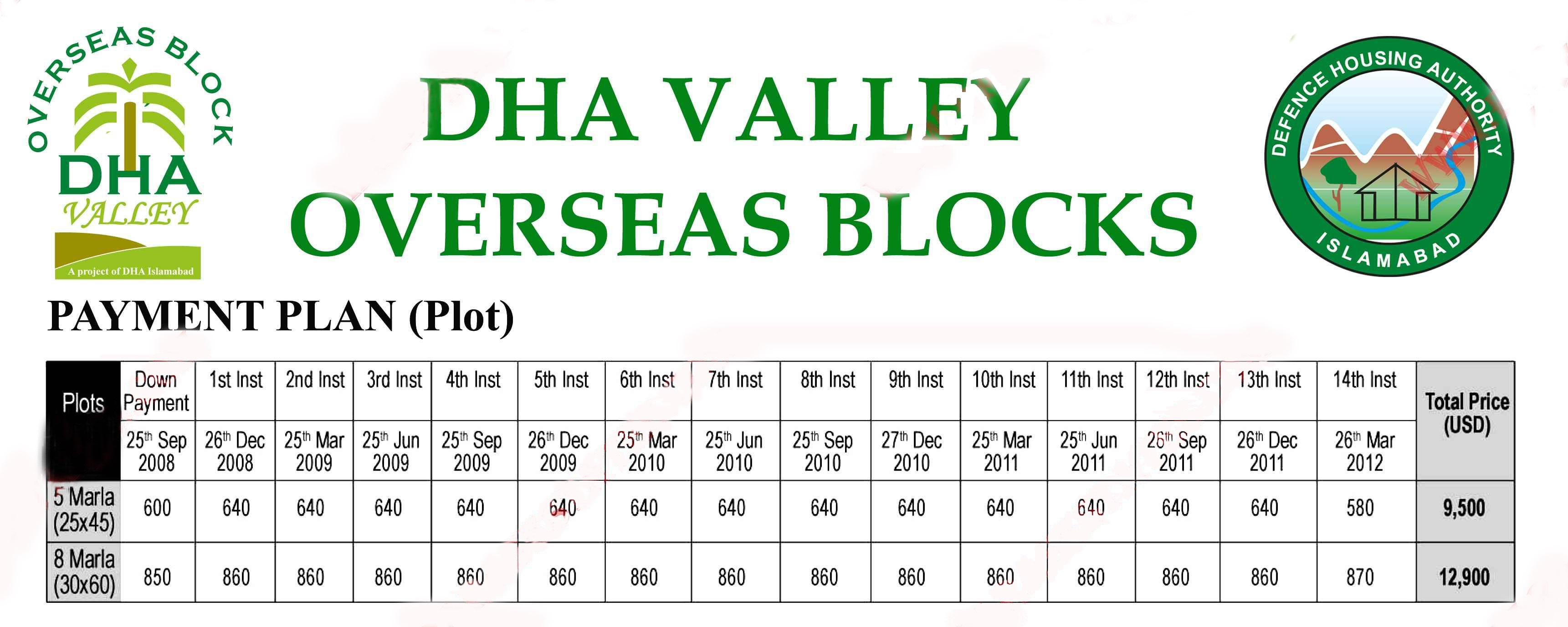 DHA Valley Overseas Block Islamabad - Manahil Estate