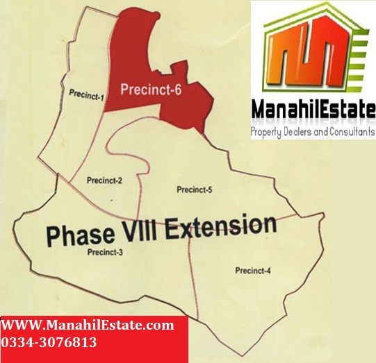 Bahria Town Islamabad Phase 8: Bahria Town Phase 8 Extension