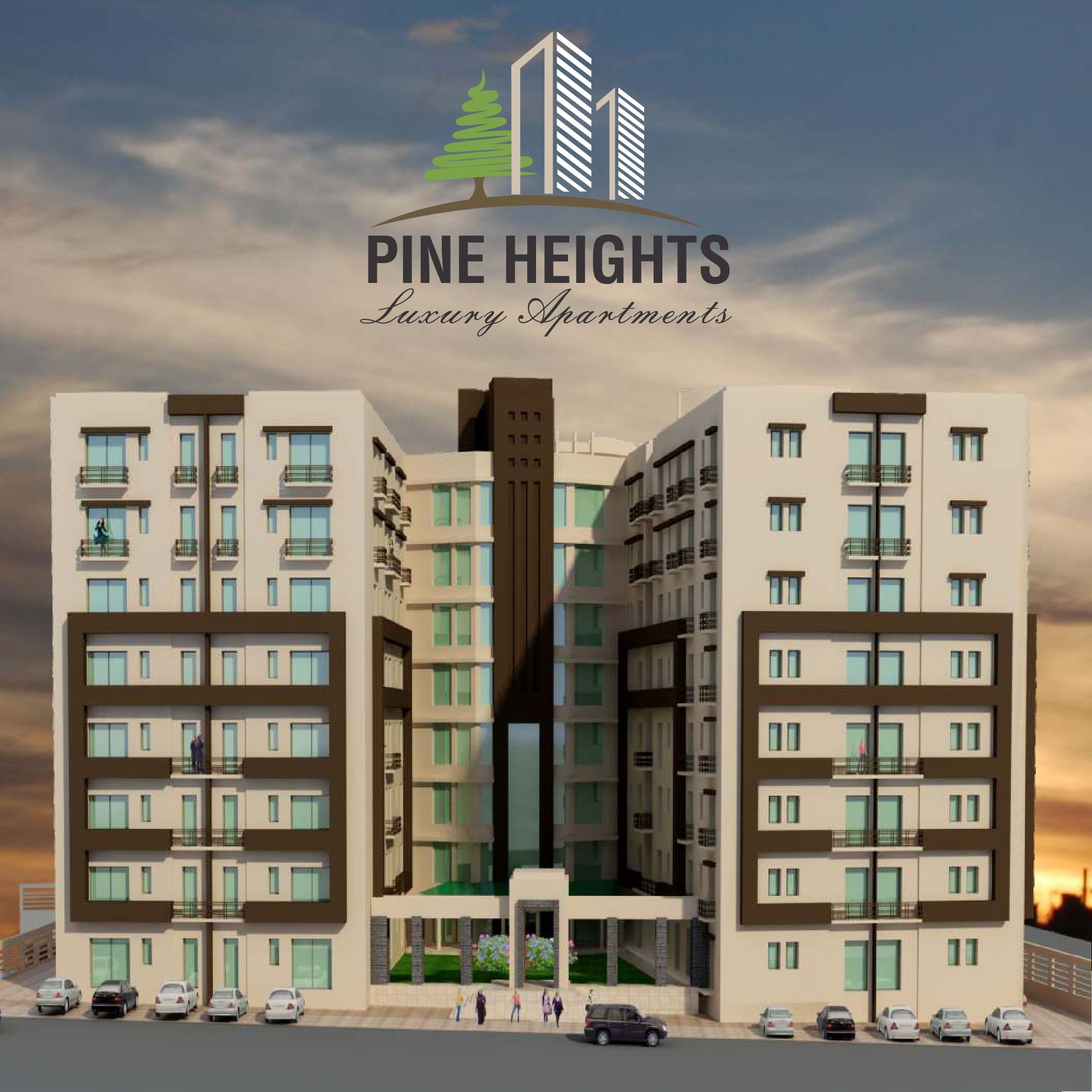 pine heights luxury apartments in d 17 margalla view