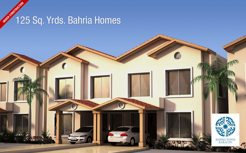 Floor plans of 125 and 200 sq yards bahria homes karachi for Home design news