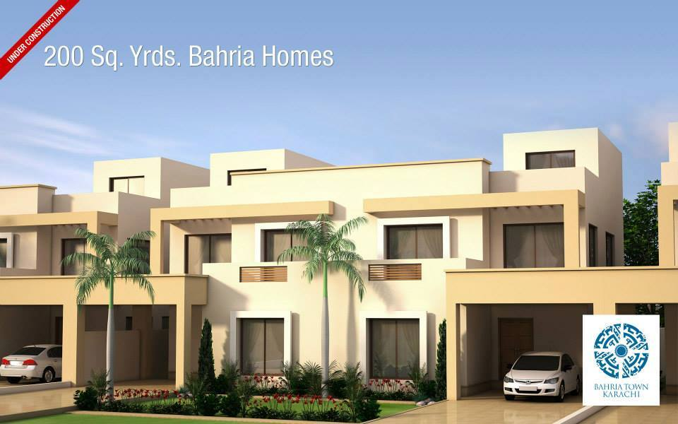 Floor plans of 125 and 200 sq yards bahria homes karachi for Bahria town islamabad home designs