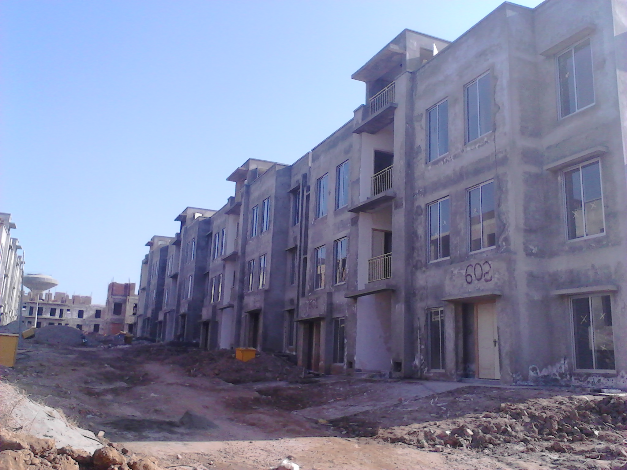 awami villas 5 bahria town ground floor structure for sale