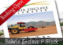 Bahria Enclave P Block