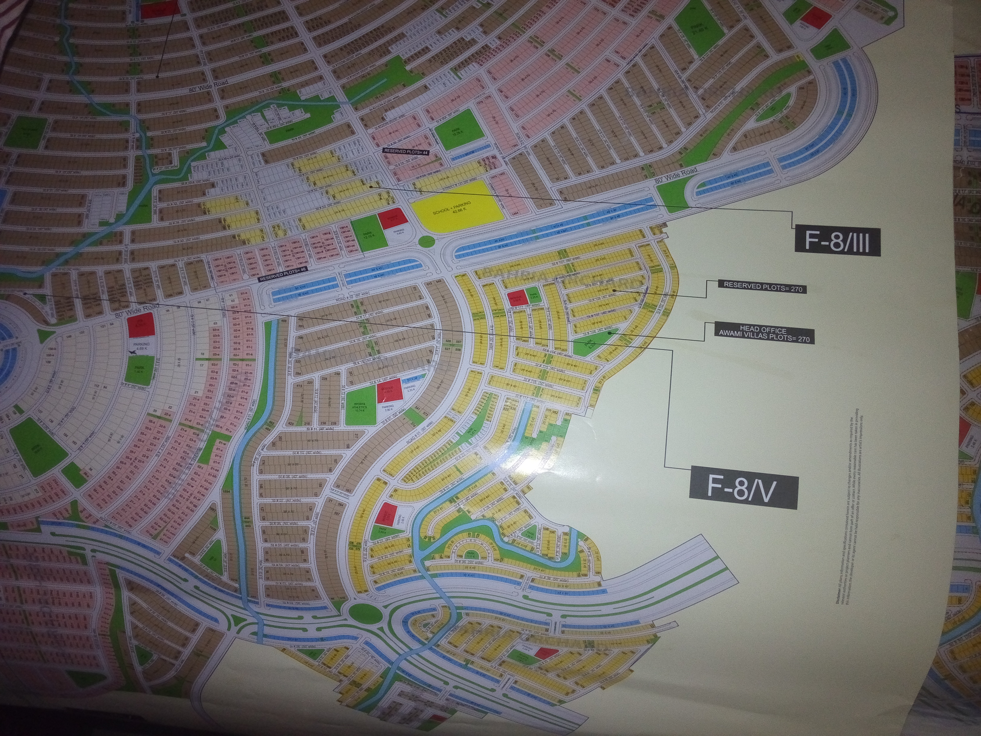 Bahria Orchard Phase 8 Commercial Plots