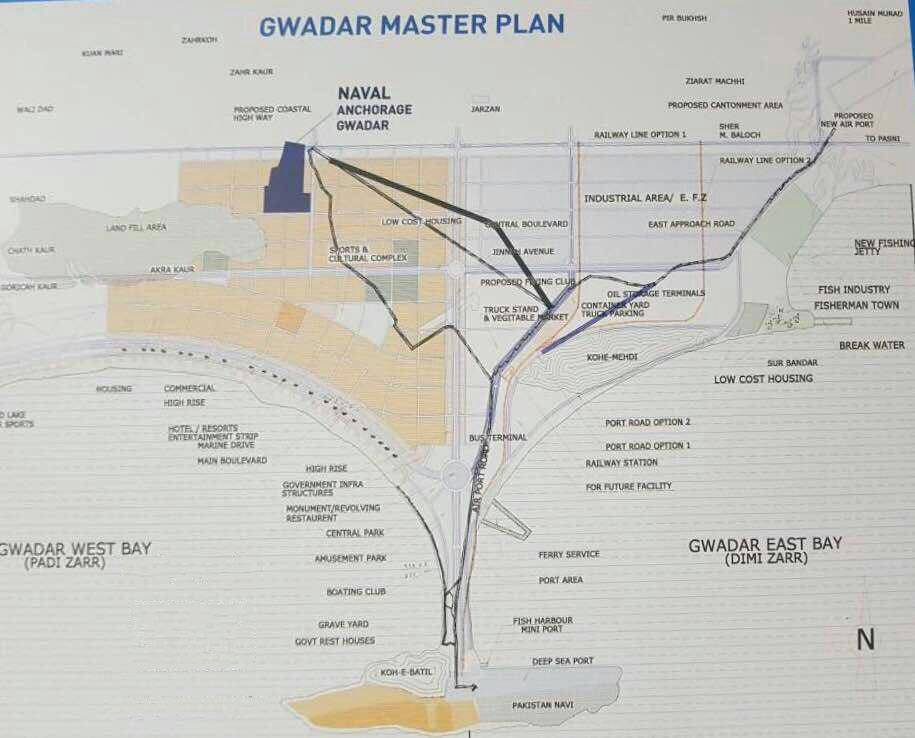 Naval Anchorage Gwadar Project Details Location Map And Plot Prices Manahil Estate