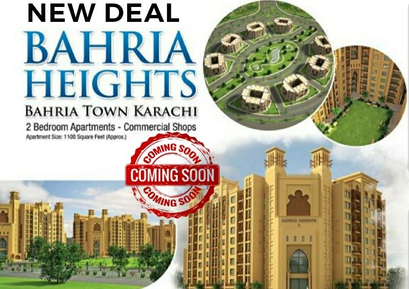 Bahria Heights Karachi Precinct 17 New Booking Details and Prices