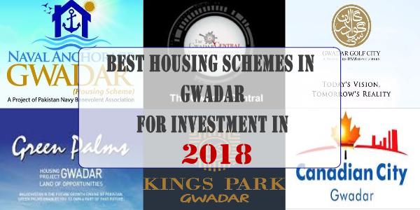 Best Housing Schemes in Gwadar for Investment in 2018