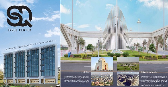SQ Trade Center – Purely Commercial Project in Bahria Town Karachi