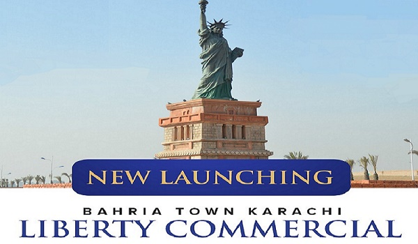Liberty Commercial Bahria Town Karachi New Deal Launched