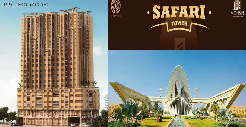 Safari Tower Bahria Town Karachi – Booking Details, Location and Prices