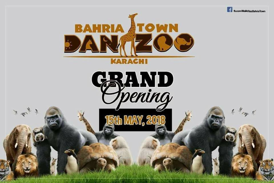 Bahria Town Danzoo Karachi: Ticketing and Timing Information