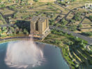 Lotus Lake Tower 3D View