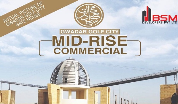 Gwadar Golf City Mid-Rise & Coastal Commercial Plot Prices and Booking Details