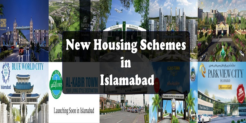 New Housing Schemes in Islamabad for Investment in 2018