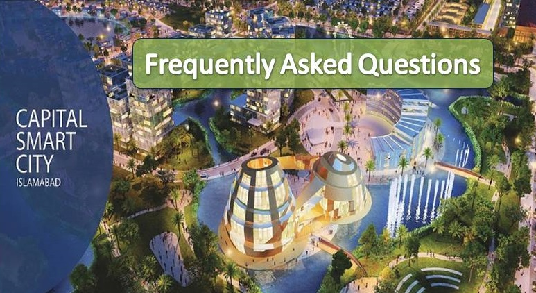 Answers to Frequently Asked Questions About Capital Smart City Islamabad