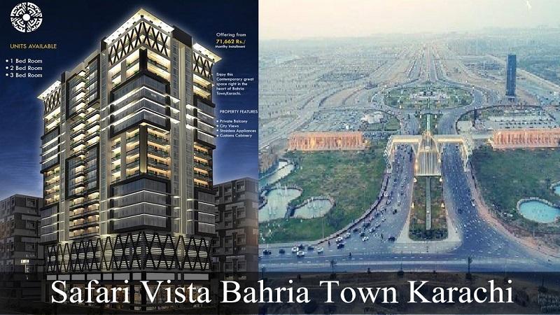 Safari Vista Apartments Bahria Town Karachi – Booking Details, Features and Prices