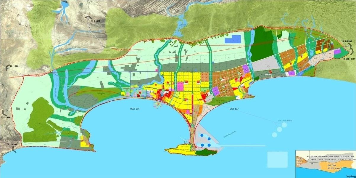 Gwadar Master Plan Map Finalized